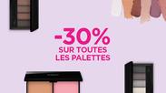 Kiko Offre promo palette à Bercy 2
