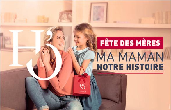 Fête des mères chez Histoire d'or à Bercy 2 à Charenton le Pont
