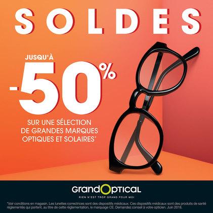 Soldes d'été chez Grand Optical à Bercy 2 à Charenton le Pont