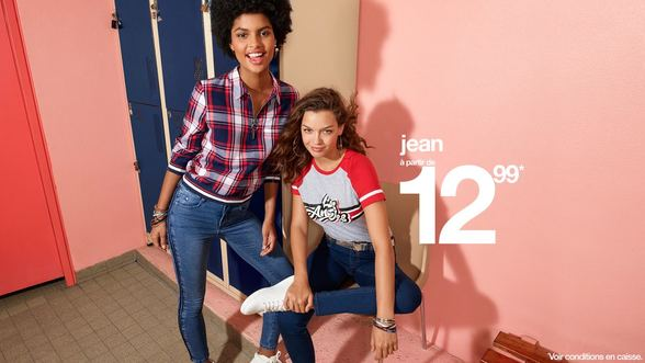 Jeans chez Jennyfer à Terre Ciel à Chelles