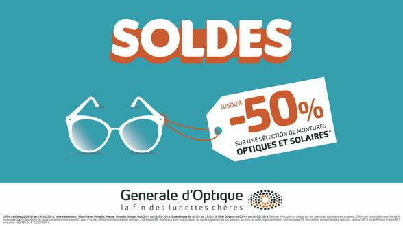 soldes chez générale d'optique à Bercy 2 à Charenton le Pont, promotion, prix bas, offres, bonnes affaires