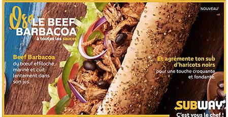 nouveau, nouvelle recette, recette, mexicain, Subway, restaurant, draps, guacamole, poivrons, haricots noirs, cheddar, nachos, sandwich