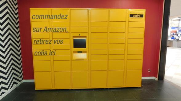 Amazon centre commercial Les Eleis