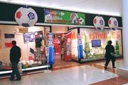 Boutique des supporters de la coupe du monde par Carrefour à Terre Ciel à Chelles