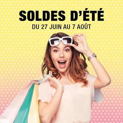 Soldes été 2018, promotions, prix bas, bonnes affaires, bons plans à Bercy 2 à Charenton le Pont