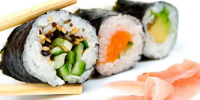Sushi bar restaurant asiatique japonais centre commercial Bercy 2