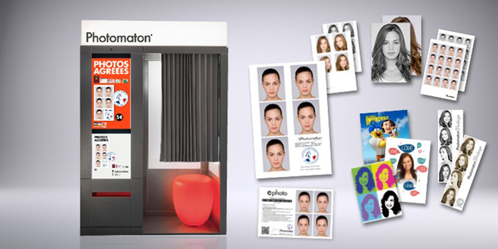 photo photomaton centre commercial Bercy 2