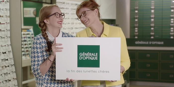 generale optique lunettes centre commercial Bercy 2