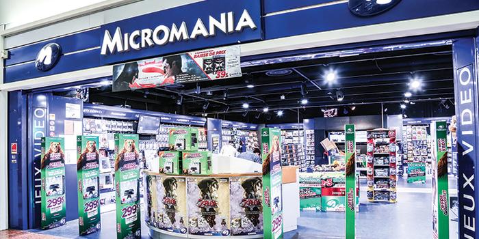 Micromania est à Terre Ciel - Shopping à Chelles, torcy, lognes, noisy le grand, neuilly sur marne, vaires, brou, brou sur chanterenne, gournay sur marne, gagny, la vallée, seine, chelles, chelles 2, centre commercial, shopping, achat, acheter
