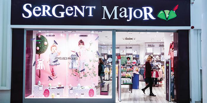 Sergent Major est à Terre Ciel - Shopping à Chelles, noisiel, torcy, lognes, noisy le grand, neuilly sur marne, vaires, brou, brou sur chanterenne, gournay sur marne, gagny, la vallée, seine, chelles 2, centre commercial, shopping, achat, acheter