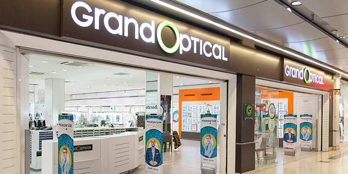 GrandOptical Grand Optical lunettes opticien centre commercial Bercy 2