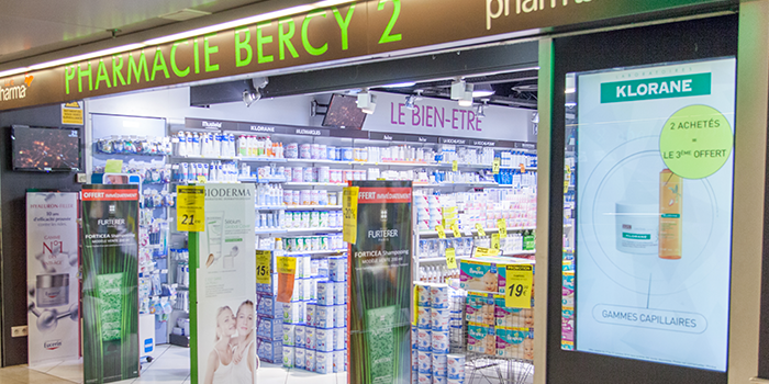 pharmacie centre commercial Bercy 2