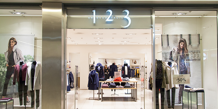 123 mode femme centre commercial