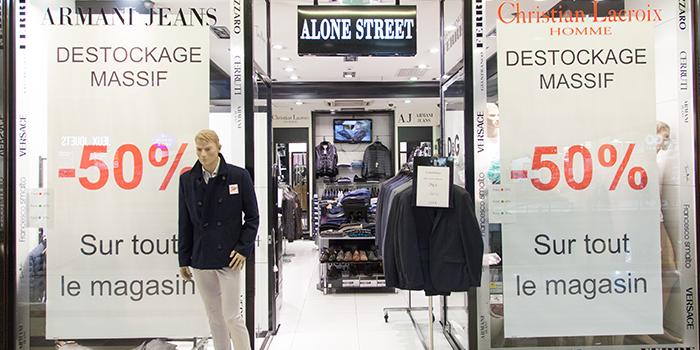Alone Street à Bercy 2 - Prêt à porter homme et sportwear
