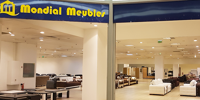 Mondial Meubles est à Terre Ciel - Shopping à Chelles, table, chaise, lognes, noisy le grand, neuilly sur marne, vaires, brou, gournay sur marne, gagny, la vallée, seine, chelles, chelles 2, centre commercial, shopping, achat, acheter