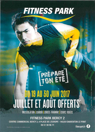 Fitness Park à Bercy 2 - Centre commercial à Charenton-le-Pont - À la sortie de Paris, Val-de-marne, acheter, shopping, réduction, achat