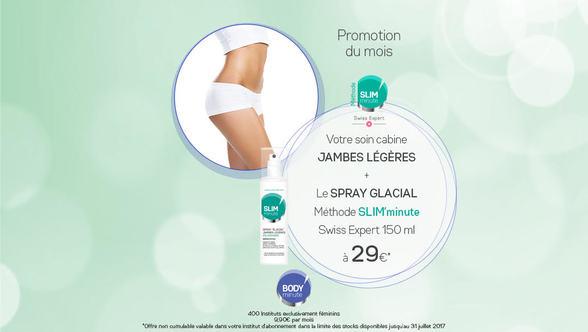 offre prmotion body minute Bercy 2 soldes réduction