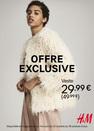 offre exclusive chez H&M à Bercy 2