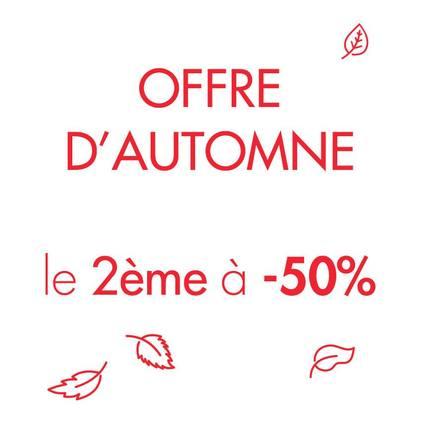 - 50 % sur le deuxième article de votre boutique Camaïeu à Bercy 2 !