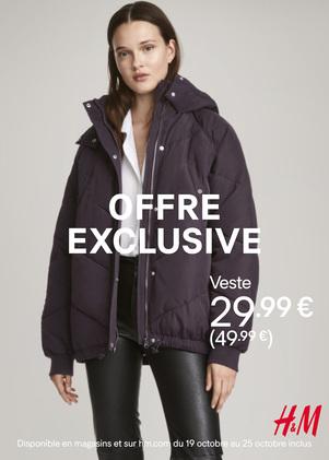 offre exclusive H&M à Bercy 2
