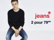 Offre jean chez Celio à Bercy 2