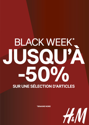offre black week h&m à bercy 2