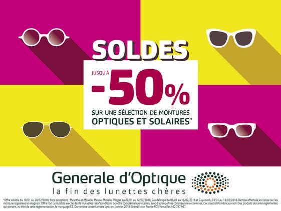 Soldes Generale D'Optique à Bercy 2 Centre Commercial