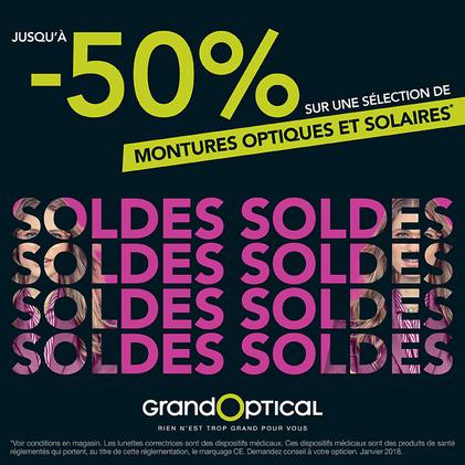 Soldes chez Grand Optical à Bercy 2 à Charenton le Pont