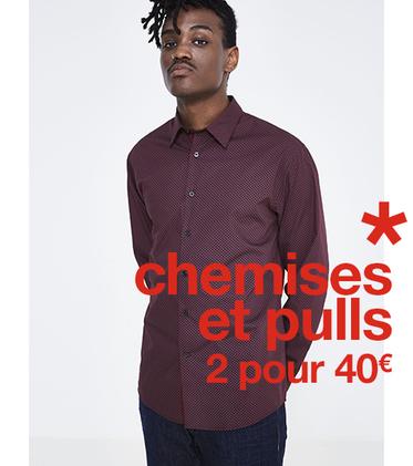 Celio offre Chemises et Pulls à Bercy 2