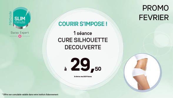 Offre cure silhouette chez Body Minute à Bercy 2 à Charenton le Pont