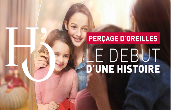 Perçage d'oreilles offert pour tout achat chez Histoire d'Or à Bercy 2 à Charenton Le Pont