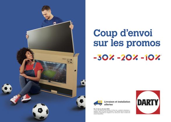 Promotions jusqu'à -30% chez Darty à Bercy 2 à Charenton le Pont
