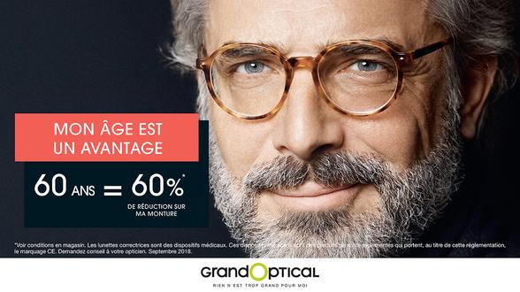 offre % Âge chez Grand Optical à Bercy 2 à Charenton le Pont