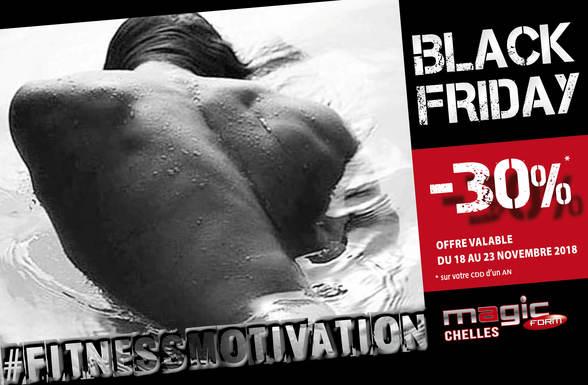 Promotion Black friday chez Magic Form à Terre Ciel à Chelles