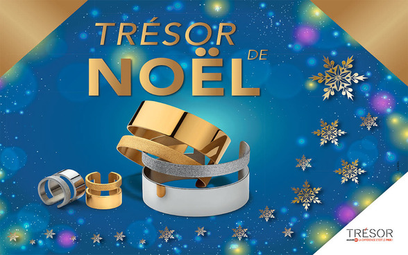 promotion noël chez Trésor à Terre Ciel à Chelles, bijoux, shopping, cadeau, beauté
