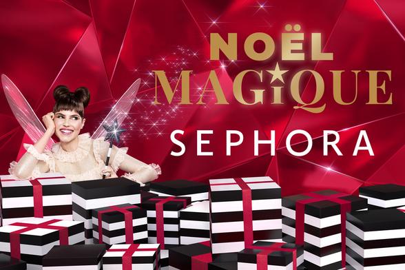 NOËL MAGIQUE chez Sephora à Terre Ciel à Chelles, shopping, Noël, maquillage, beauté, cosmétique
