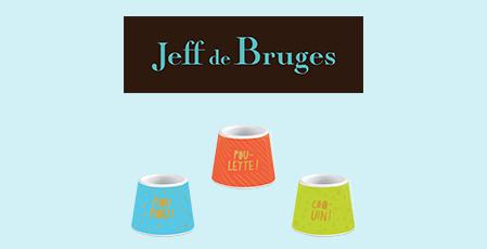 1 COQUETIER OFFERT À PARTIR DE 12,90 € D'ACHAT DE CHOCOLATS DE PÂQUES* chez Jeff de Bruges à Terre Ciel à Chelles