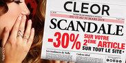Du 13 au 31 mars bijouterie CLEOR -30% sur votre deuxième article