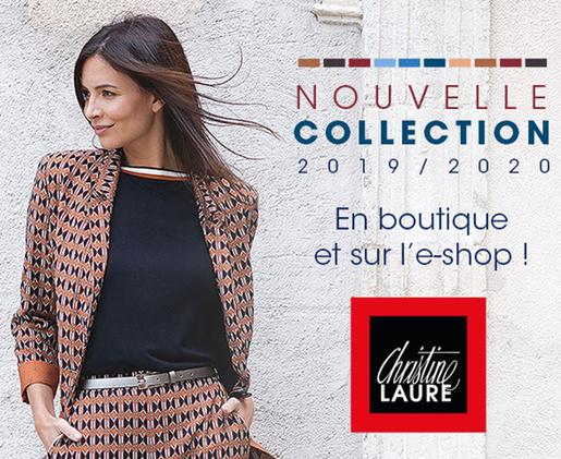 NOUVELLE COLLECTION  | Toujours à la pointe de la mode avec Christine Laure !