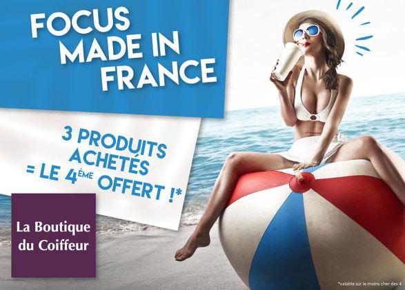 Focus Made In France – 3 produits achetés = le 4ème OFFERT
