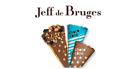 1 CHOCO'CÔNE OFFERT À PARTIR DE 15 € D'ACHAT chez Jeff de Bruges à Bercy 2 à charenton le pont