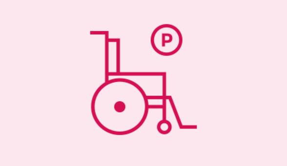 Parking pour personnes à mobilité réduite - Centre commercial Terre Ciel à Chelles près de gournay sur marne, chelles, noisiel, torcy, lognes, noisy le grand, neuilly sur marne, vaires, marne la vallée, chelles 2, handicapés, shopping