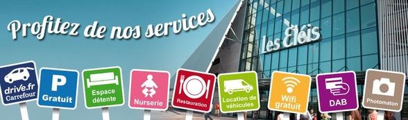 Services centre commercial les Eleis Cherbourg